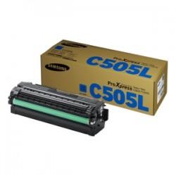 SAMSUNG TONER CIANO CLT-C505L SU035A 3500 COPIE  ORIGINALE