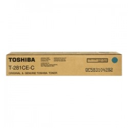 TOSHIBA TONER CIANO T-281-CEC 6AK00000046 10000 COPIE  ORIGINALE