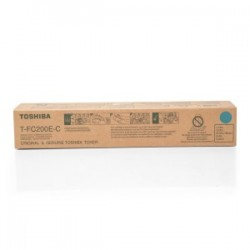 TOSHIBA TONER CIANO T-FC200E-C 6AJ00000119 33600 COPIE ORIGINALE