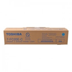 TOSHIBA TONER CIANO T-FC20EC 6AJ00000064 16800 COPIE  ORIGINALE
