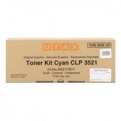 UTAX TONER CIANO 4452110011  4000 COPIE  ORIGINALE