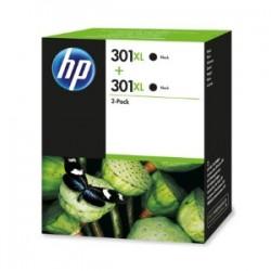 HP MULTIPACK NERO D8J45AE 301 XL 2 X HP 301 XL NERO ORIGINALE