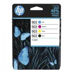 HP MULTIPACK NERO / CIANO / MAGENTA / GIALLO 6ZC73AE 903  ORIGINALE