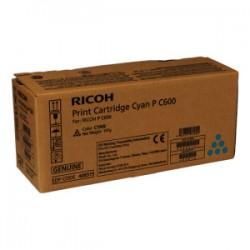 RICOH TONER CIANO 408315 P C600C 13000 COPIE  ORIGINALE