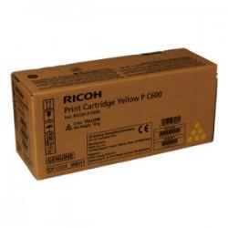 RICOH TONER GIALLO 408317 P C600Y 13000 COPIE  ORIGINALE