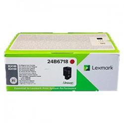 LEXMARK TONER MAGENTA 24B6718  13000 COPIE  ORIGINALE