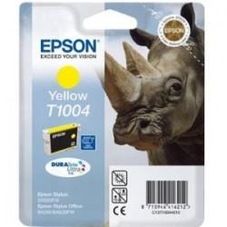 EPSON CARTUCCIA D\'INCHIOSTRO GIALLO C13T10044010 T1004 910 COPIE 11,1ML ORIGINALE